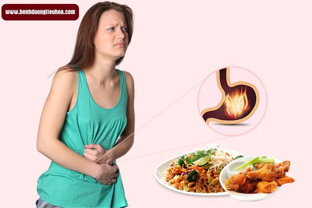 Viêm loét dạ dày tá tràng do ăn uống