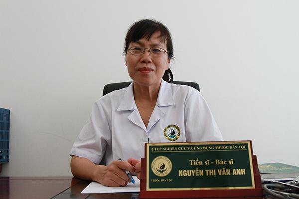 Tiến sĩ bác sĩ Nguyễn Thị Vân Anh