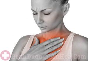 Ợ nóng triệu chứng trào ngược dạ dày thực quản