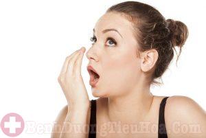Hôi miệng - Triệu chứng trào ngược dạ dày thực quản