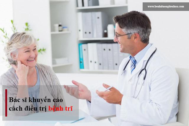 Bác sĩ khuyến cáo về cách điều trị bệnh trĩ