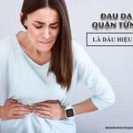 dạ dày bị đau quặn từng cơn