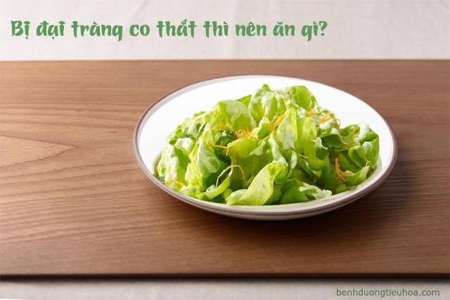thực phẩm người bị đại tràng co thắt nên ăn