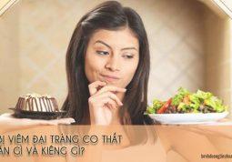 bệnh đại tràng co thắt nên ăn gì và không nên ăn gì
