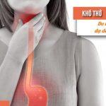 trào ngược dạ dày thực quản gây khó thở