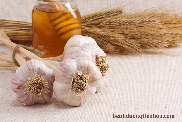 Tỏi và mật ong chữa bệnh đau dạ dày