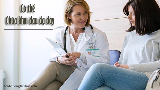 bác sĩ có thể chữa đau dạ dày nếu phát hiện bệnh sớm