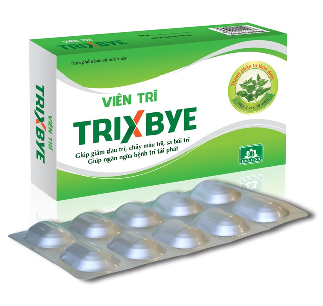 Sử dụng viên trĩ Trixbye có hiệu quả không