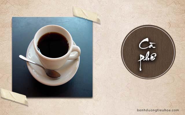 bị đau dạ dày không được uống cà phê nhiều