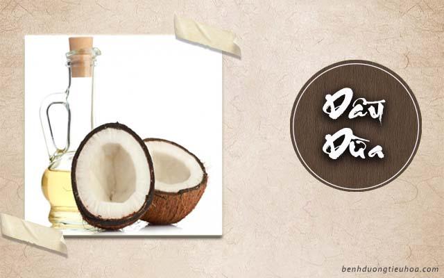 hướng dẫn cách chữa đau dạ dày bằng dầu dừa