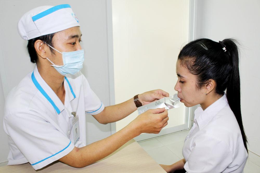 Quy trình xét nghiệm vi khuẩn Hp bằng hơi thở