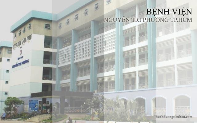 khám chữa đau dạ dày ở bệnh viện Nguyễn Tri Phương