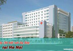 bệnh viện nội soi tốt ở Hà Nội