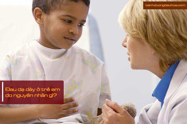 Nguyên nhân gây đau dạ dày ở trẻ em