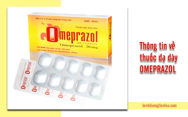 chữa đau dạ dày Omeprazaol