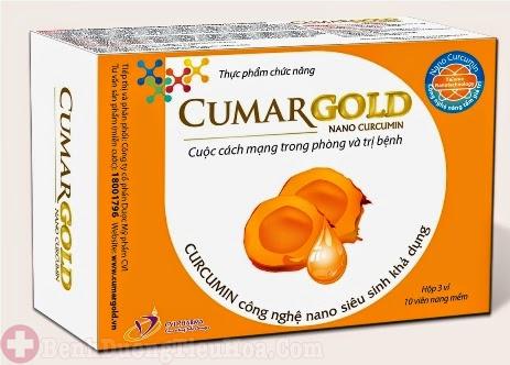 Thực phẩm chức năng Cumarrgold trị viêm loét dạ dày