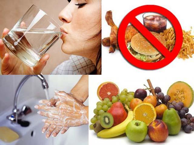 Chế độ ăn và sinh hoạt cho người viêm dạ dày