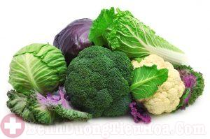 Người bệnh viêm dạ dày cấp nên ăn nhiều các loại rau cải