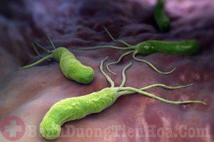 Nhiễm vi khuẩn Hp trong dạ dày có lây không?