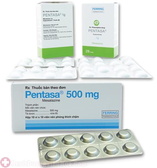 Thuốc điều trị viêm đại tràng xuất huyết