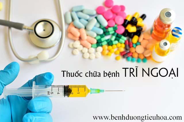 Thuốc điều trị bệnh trĩ ngoại