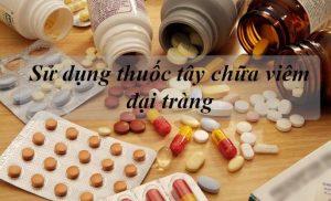 Thuốc tây chữa viêm đại tràng