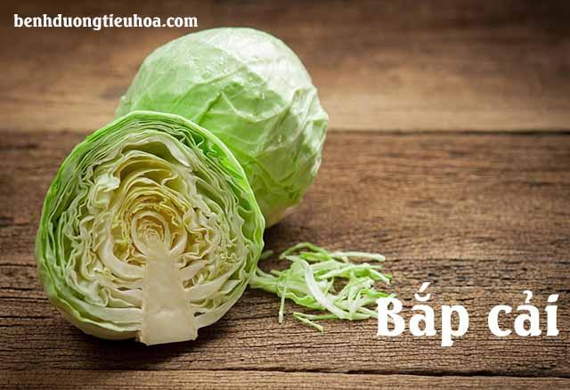 Chữa đau dạ dày bằng rau bắp cải