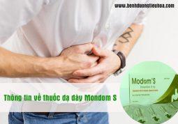 Thuốc dạ dày Mondom S có tốt không?