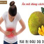 Bị đau dạ dày có nên ăn mít không?
