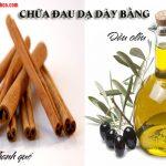 Cách chữa đau dạ dày bằng dầu oliu