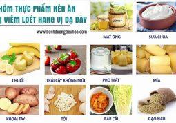 Bị viêm loét hang vị dạ dày nên ăn gì, kiêng gì?