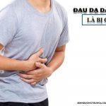 đau dạ dày âm ỉ