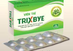 Sử dụng viên trĩ Trixbye có hiệu quả không?