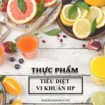 thực phẩm tiêu diệt vi khuẩn HP