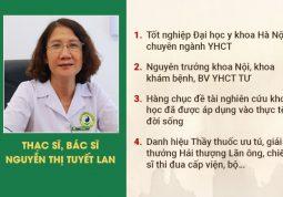 Bác sĩ Nguyễn Thị Tuyết Lan đã có hơn 40 năm trong nghề y