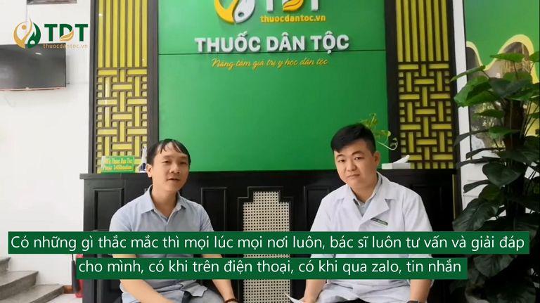 Bệnh nhân Huynh Huy Khải chia sẻ về Thuốc dân tộc