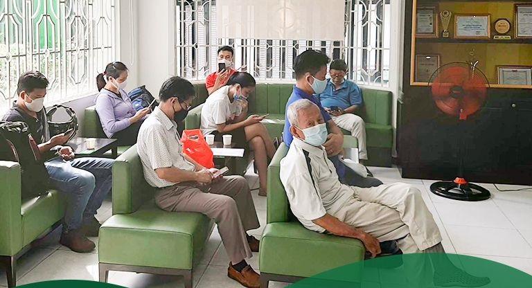 Hình ảnh ghi lại tại cơ sở Thuốc dân tộc 145 Hoa Lan