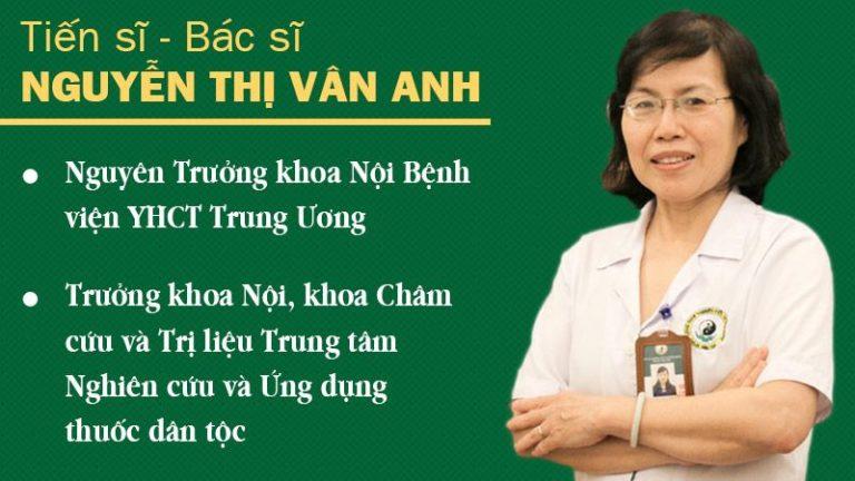TS Nguyễn Thị Vân Anh chia sẻ
