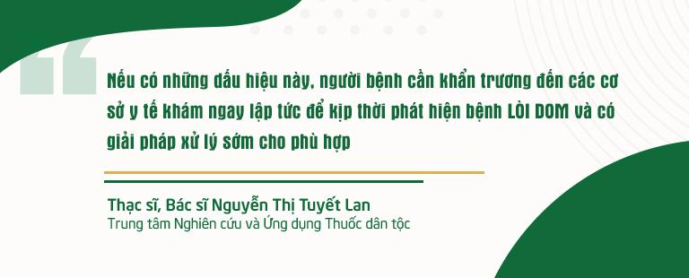 Chia sẻ của Th.Sĩ, Bác sĩ Nguyễn Thị Tuyết Lan